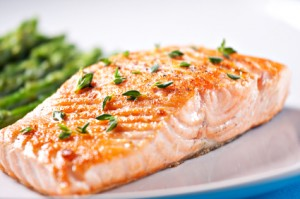 wild caught salmon filet