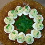 Deviled Eggs with Wild Caught Salmon