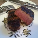 Coffee Rubbed Filet Mignon